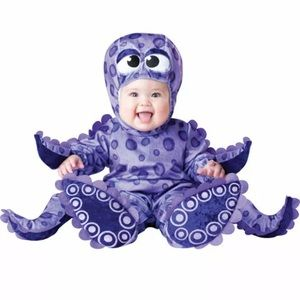 🎃 Tiny Tentacles Octopus Jumpsuit Outfit Costume
